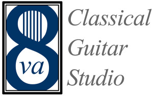 8va Classical Guitar Studio